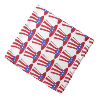 Uncle Sam July 4th USA Patriotic American Bandana