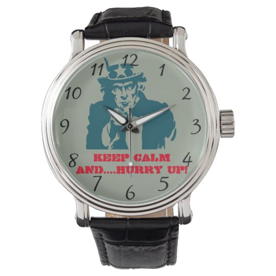 Uncle Sam keep calm Watch