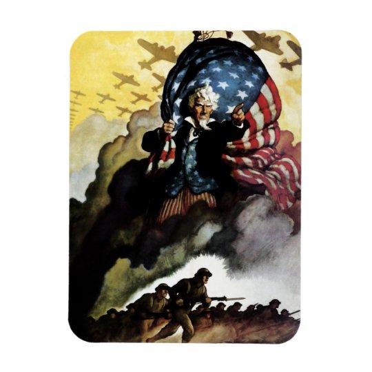 Uncle Sam - N. C. Wyeth Magnet