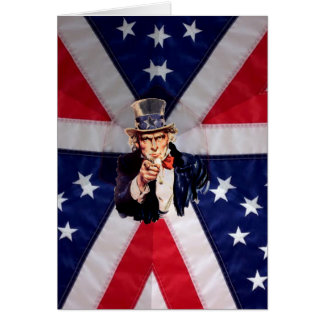 Uncle Sam New Citizen Card