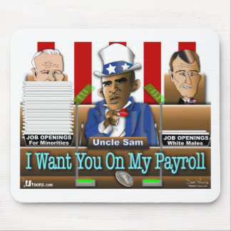 Uncle Sam Obama Mouse Pads