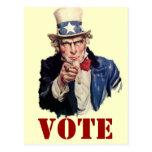 Uncle Sam Patriotic VOTE Designs
