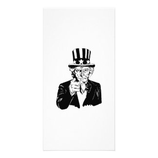 Uncle Sam Picture Card