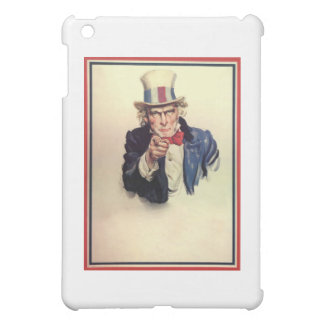 Uncle Sam Poster Template iPad Mini Case