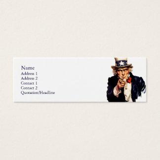 Uncle Sam Profile Cards