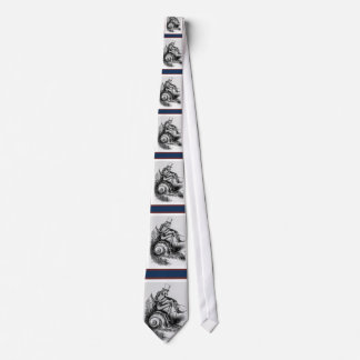Uncle Sam Riding the Congressional Snail Tie