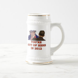 UNCLE SAM SAYS BEER STEIN