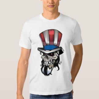 Uncle Sam Skull T-shirts