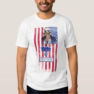 Uncle Sam Skull, Vote or Vanish, Presidental Shirt