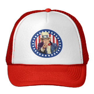 Uncle Sam Stars and Stripes Cap