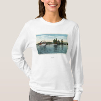 Uncle Sam Steamer at the Loon Island Landing T-Shirt