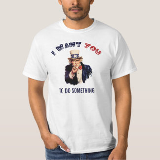 Uncle Sam Template T-Shirt