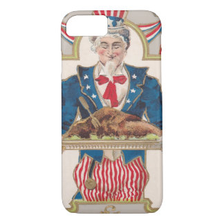 Uncle Sam Thanksgiving Turkey iPhone 7 Case