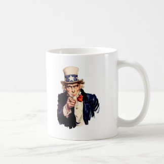 Uncle Sam Wants You! Coffee Mug