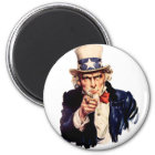 Uncle Sam Wants You! Magnet