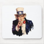 Uncle Sam Wants You! Mouse Pads