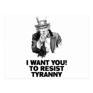 Uncle Sam Wants You Post Card