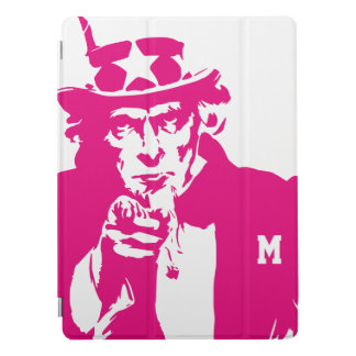 Uncle Sam Wants You. Silhouette. Patriot. iPad Pro Cover