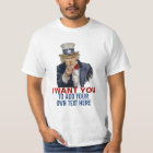 Uncle Sam Wants You To Make Your Own T-Shirt