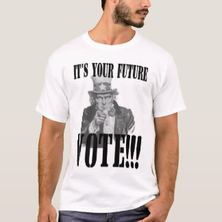 Uncle Sam wants you to VOTE!!! T-Shirt