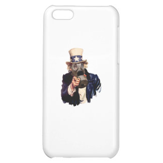 Uncle Sam - With Gas Mask!  Zombie Apocalypse! iPhone 5C Cover