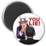 Uncle Sam You Lie Magnet
