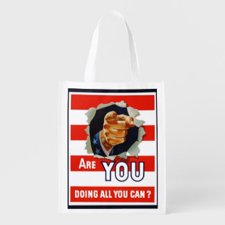 Uncle Sam Grocery Bags