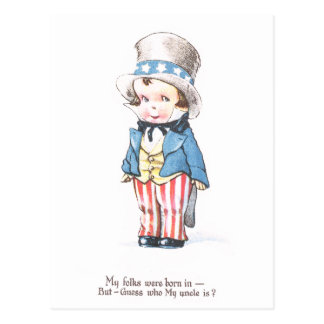 Uncle Sam's Nephew Postcard