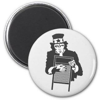 Uncle Sam's Washboard Fridge Magnet