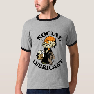 Uncle Swifty- Social Lubricant T-Shirt