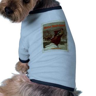 Uncle Tom's Cabin, 'Eliza's Escape' Vintage Theate Dog Tshirt