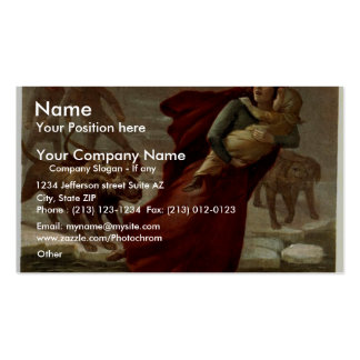 Uncle Tom's Cabin, 'Eliza's Escape' Vintage Theate Pack Of Standard Business Cards