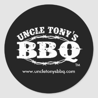 Uncle Tony's BBQ, Stickers