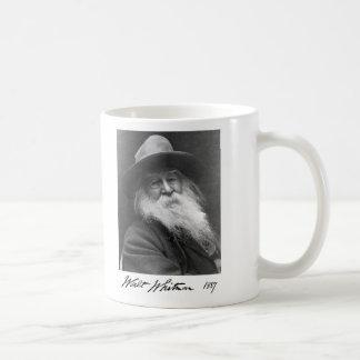Uncle Walt Whitman Age 68 Basic White Mug