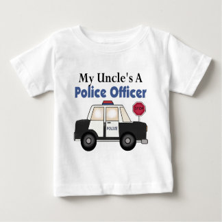 Uncle's A Police Officer Baby T-Shirt
