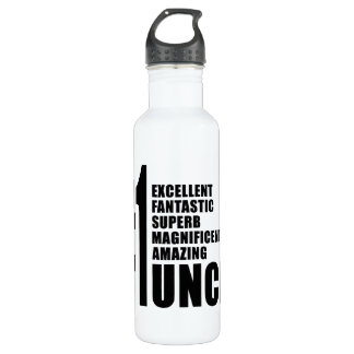 Uncles Birthdays : Number One Uncle 710 Ml Water Bottle