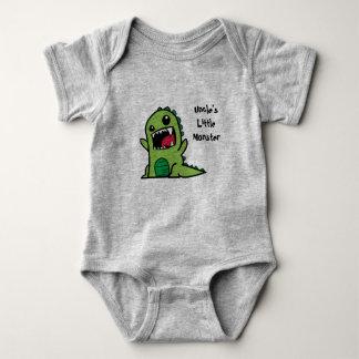 Uncle's Little Monster Baby Vest Baby Bodysuit