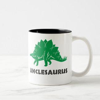 Unclesaurus STEGOSAURUS dinosaur uncle mug cup