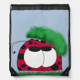 Uncommon Friends Drawstring Backpack