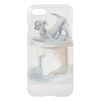 """Uncommon IPhone 7 Clear """"Watercolor Dog"""" iPhone 8/7 Case"""