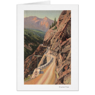 Uncompahgre Gorge and Million Dollard Highway Card