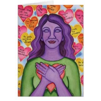 Unconditional Self-Love by Rita Loyd Card