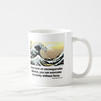Unconquerable Calmness Basic White Mug