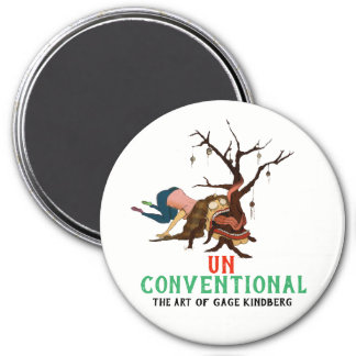 """""""UNconventional"""" Christmas Magnets"""