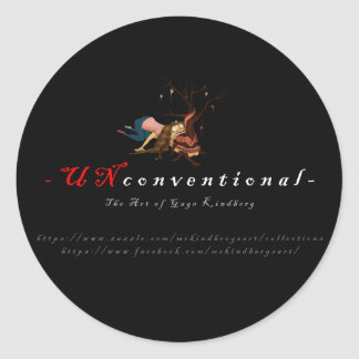 UNconventional Sticker
