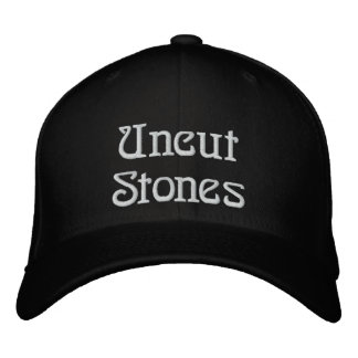 Uncut Stones Fitted Hat