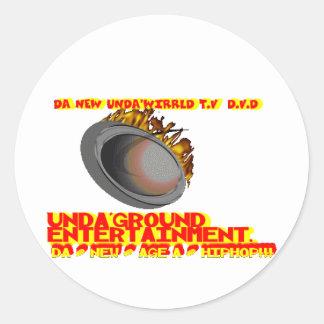 UNDA WIRRLD TV DVD SHOW MERCHANDISE STICKERS