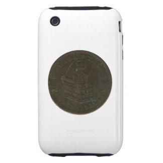 Undated Civil War Token iPhone 3 Tough Cases