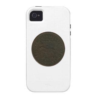 Undated Civil War Token Vibe iPhone 4 Cases