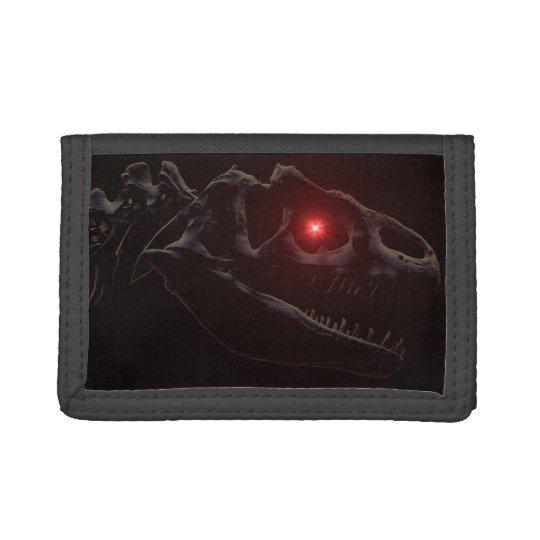 Undead Dinosaur Tri-fold Wallets